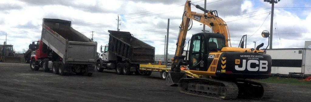Excavating equipment Simcoe Ontario