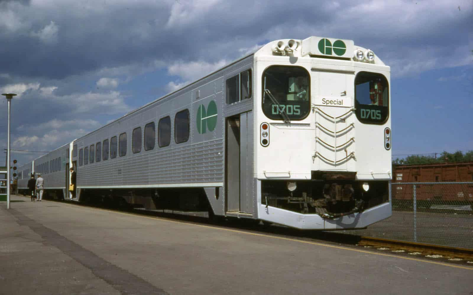 Go Train in Oakville